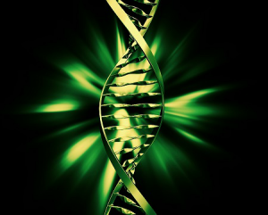 dna-strand-double-helix-green